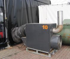 The Tentshop-Verwarming