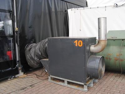 The Tentshop - Verwarming